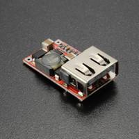 Wholesale buck cars - 6-24V 24V 12V to 5V USB Step Down Module DC-DC Converter Phone Charger Car Power Supply Module Efficiency Buck Module