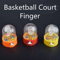 Wholesale funny toys best resale online - Mini Hot Sale Finger Basketball Court Fingertip Table Sport Ball Game Stress Relief Kids Funny Puzzle Toy Best Gift