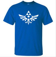 Wholesale red shirts game - Man's T-shirt Zelda Game Printing Short Sleeve Crew Neck Casual T-shirt 9 Colors Plus Size S-3XL