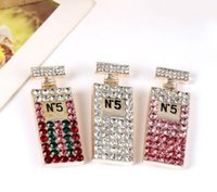 Wholesale brooch accessory dress resale online - Hot buy new rhinestone letters brooch ladies girls bridal dress party jewelry fashion accessories