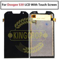 mobile ersatzwerkzeuge großhandel-Für Doogee S30 LCD Display und Touchscreen Montage Ersatzteile 5,0 Zoll Ersatz Mobile Zubehör + Tools