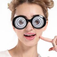 Wholesale Eyeball Halloween - Funny Glasses Circles Cartoon Eyeball Design Novelty Eyeglasses For Horrible Halloween Evening Party Decoration Props High Quality 7 5sfc Z