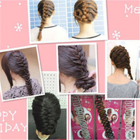 Wholesale Twist Braid Headband - Fashion Hair Braiding Braider Tool Roller With Magic hair Twist Styling Hair Braiders for Women&Girls popular Headband 0209002