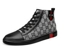 modelos masculinos zapatos casuales al por mayor-2019 zapatillas de deporte de alta calidad de lujo de los hombres zapatos casuales zapatos de marca de moda de zapatos masculinos 2 marca de venta de modelo 38-46