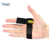 ingrosso nastro ad anello-Commercio all'ingrosso Medical Trigger Finger Splint Hook Loop Tape Finger Ortesi Brace Support Pain Relief Dito Protector Brace Support Belt
