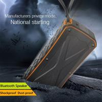 mini bluetooth hoparlör pili toptan satış-Su geçirmez Kablosuz Bluetooth Hoparlör Mini Açık Taşınabilir Subwoofer 4500 mAh Pil IP66 Destek TF Kart USB Handsfree VS Xtreme Şarj 3