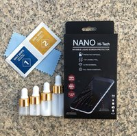 Wholesale invisible screens for sale - Group buy 2018 New Package Liquid Screen Protector NANO Technology Film For iPhone For Samsung For XiaoMi Mi invisible Screen Protector
