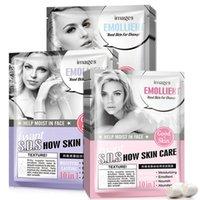 bild natürlich großhandel-Neue BILDER Hautpflege Silk Gesichtsmaske Natürliches flüssiges Öl Kontrolle Nachschub Feuchtigkeitsspendende Whiting Gesichtsmaske