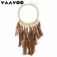 Wholesale large vintage pendant - whole saleYAAYOO Multi-Layer Vintage Necklaces & Pendants Large Colorful Tassel Statement Necklace Women Ethnic Jewelry For Personalised