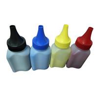 принтеры тонер оптовых-100g/bottle Refillable toner  for Color LaserJet Pro M154 MFP M180nw MFP M181 Printers 204A CF510A CF511A CF512A CF513A