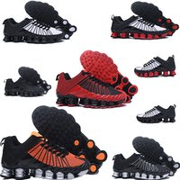 Wholesale D Shock - 2018 New Model Sell Hot Total High Quality Shox Men's Shoes Lightweight Shock Fly Line Athleisure Casual Shoes