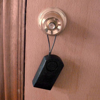 painel de segurança gsm venda por atacado-120dB indutivo Alarme de corpo humano sem fio do toque de Segurança Sensor alarme alto Botão de porta de entrada Alerta Anti Theft