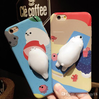 Wholesale squishy iphone case online – custom For Iphone X XS MAX XR S s Plus plus plus Case D Kawaii Squishy Slow Rising Squishies Toy Cat Phone Cases Cover for Iphone7