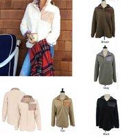 xxl kadın kışlık ceket toptan satış-7 Renkler Sherpa Kazak Kadınlar Berber Polar Hoodie Kazak Ceket Kış Sıcak Dış Giyim Womens Yüksek Kalite Boy Yumuşak Tişörtü MMA612