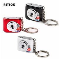 mini dv fotoğraf makinesi mikro sd kartı toptan satış-Ücretsiz Kargo Güzel Anahtarlık Tasarım 30FPS HD X3 Mini DV Kamera Dünyanın En Küçük Kamera Desteği Mikro SD Kart