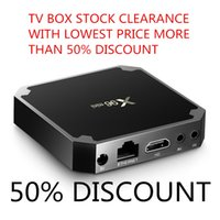 Wholesale android tv box pricing online - Stock clearance Android TV Box S905X T95M T95N X96 T95X R TV WiFi Internet TV Box K Smart tv Android boxes lowest price