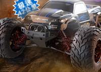rc autos nitro großhandel-2.4G 4CH Super Power RC Auto High Speed Stunt Rennwagen Fernbedienung Geländewagen