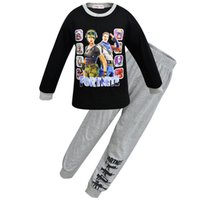 Kids Clothes Boys fortnight Pijamas Battle Victory Royale Pyjamas Big Boys Christmas Pajamas Clothing Girls Homewear Sets Sleepwear