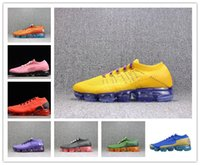 Wholesale dragon knit - Free Shipping Vapormax 2.0 Flying Knit Dragon ball Evolution Walking Shoes Vegeta Athletic Dragon Ball Outdoor Sneaker Casual Shoes