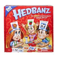 Wholesale hot funny games - Classic Hedbanz Card Game Family Funny Entertainment Board Role Playing Games Party Guessing Cards Poker Hot Sale zy WW