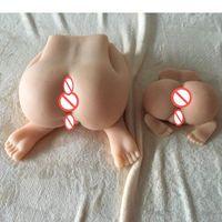 muñeca japonesa real coño al por mayor-3d gran culo adulto juguetes sexuales Japonés de silicona llena real realista coño muñeca del sexo para hombres Vagina Anal masturbador juguete del sexo para hombre