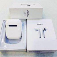 Wholesale i8 TWS Mini Earbuds Wireless Bluetooth Double Earphones Stereo Music Headset Headphones For IOS Android Phone Mac PK i8x Afans Ifans i7s i9