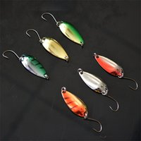 Wholesale fishing lures for sale online - Sequins Lure Fishing Hooks Single Head Multi Design Mini Fake Bait Articles Useful Small Fish Hook For Gifts Hot Sale wh Z