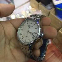negócios automáticos venda por atacado-Homens de luxo Automático Assista Marca de Moda Negócios Mecânicos Relógios Esqueleto de Aço Inoxidável Relógio de Pulso Masculino Relógio Relogio masculino