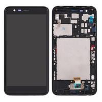инструменты nexus lcd оптовых-Для LG K10 2018 K30 ЖК-Дисплей С Сенсорным Экраном Дигитайзер Рамка Ассамблеи Замена Для LG K10a LMX410 LMX410TK