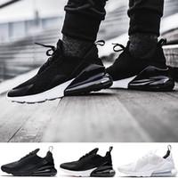 f41b876d49d3b Grande Taille 36-49 270 Chaussures de Course Pour Hommes Femmes 270s Noyau  Triple Noir Blanc Pas Cher Designer Trainer Sport Sneaker 5.5-14 Livraison  ...