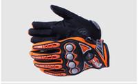 guantes de protección de verano al por mayor-Guantes de protección de motocicleta Motocicleta de verano Motocross Ciclismo Street Protección de carreras de motos Protecciones de manos MCS-23