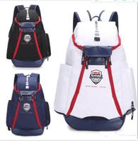 büyük sırt çantaları toptan satış-Öğrenci Çantası Okul Çantaları Yeni Olimpiyat ABD Takım Paketleri Sırt Çantası Adam Çantaları Büyük Kapasiteli Su Geçirmez Eğitim Seyahat Çantaları Ayakkabı Çanta Ücretsiz Kargo