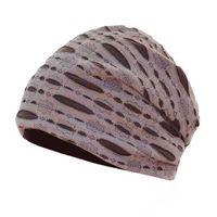 chapeaux de crâne achat en gros de-AUZE Hommes / Femmes En Coton Élégant Doux Creux Beanie Cap Printemps Couleur Unie Coton Chemo Cap Bonnet Slouchy Skull Hat