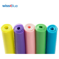 Wholesale pilates resistance bands purple - 1Pc Resistance Band 1.5M High Quality Yoga Pilates Stretch Exercise Training Rubber Cross Fitness Band Sports Stretch Belts