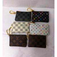 Wholesale wholesale fashion square for sale - Women s Men s Coin Wallets Holders Unisex Formal Fashion Brand Famous Luxury Designer Short Purses Clutch Billfolder Handbags Bags Totes