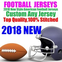 d732cb80e 2018 Stitched Jersey Cheap Sports Outdoors Athletic Outdoor Apparel Rugby  Wear American Football Jerseys factory Mixed Order dhl 4xl 5xl 6xl