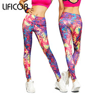 Wholesale sexy female sports pants - Womens Yoga Pants Sexy Sports Fitness Leggings For Female Sport Pants Trousers Running Yoga Leggings Sweat Gym Sportswear