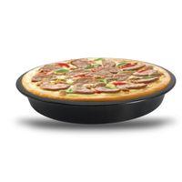 качественные кастрюли оптовых-Выпечки инструменты высокого качества углеродистой стали антипригарным Пан бытовой пицца Пан 6 в 8 в 9 в 10 в 4 Технические характеристики пицца выпечки лоток.