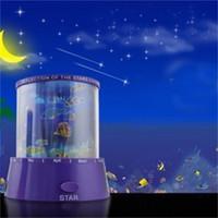 ingrosso lampada ricaricabile del regalo-Incredibile lampeggiante colorato Galaxy Night Lamp Sky Star Master Proiettore LED ricaricabile Sky Night Light Miglior regalo per i bambini 4 5qd Z