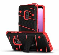 Wholesale iphone 4 cases for sale - Hybrid Armor Case Soft TPU PC Kickstand Holder Phone Cover for IPhone X XS MAX XR Samsung Note9 S9 S8 Plus LG Stylo G7 Huawei Mate OPP