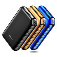Wholesale external lg - JOYROOM Power Bank 9000 mAh Portable Charger Luxury External Battery Charging Powerbank for iphone samsung LG