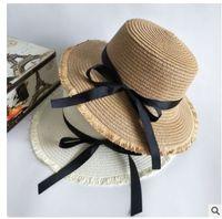 eeab1b800cc Summer Hats For Women Sun Hat Leather Gold Chain Belt Flower Floppy Beach  Wide Brim Straw Panama Hat Female Cap