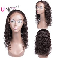 Wholesale bulk shorts - UNice Hair Brazilian Human Hair Lace Front Wigs For Black Women Virgin Natural Wave Short Bob Wigs Pre-Plucked With Baby Hair Wholesale Bulk
