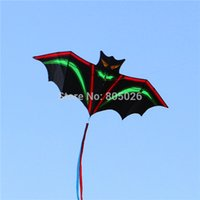 Wholesale beautiful bat - Free shipping high quality Lightning bats beautiful in sky breeze easy to fly with kite handle line wei kite factory