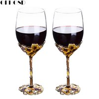 Wholesale gift for wedding wine resale online - GFHGSD Champagne Glass Flutes Perfect for Wedding Gifts Set of Crystal Toasting Flutes and Wine Glasses QAZ1030