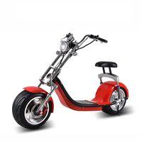 alüminyum scooter'lar toptan satış-Prens Edward 60V1500W Elektrikli Scooter Alüminyum Jant Elektrikli Scooter Bisiklet Spor Eğlence Scooter Lityum Pil Özelleştirilebilir