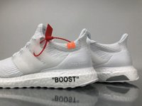 Wholesale Tied Table - 2018 New Arrive Ultra Boost 4.0 Triple off Running Shoes Woman white Ultraboost 4 Primeknit Runs Fashion men sneakers Size 36-46 ZIP TIE