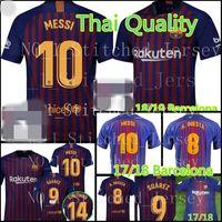 Wholesale thai quality - Barcelona Soccer Jersey MESSI A.INIESTA Suárez DEMBELE COUTINHO football shirt 2018 2019 Thai Quality Barcelona Soccer Jerseys