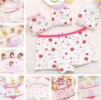 ef06cc776e kinderunterwäsche für mädchen großhandel-Kinder Unterwäsche Baby Baumwolle  Unterwäsche Mädchen Hosen Höschen Kinder Mädchen Unterwäsche