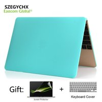 """Wholesale A1369 Keyboard - SZEGYCHX, Matte Laptop Case For MacBook Air 13 inch Case Cover For Air 13.3"""" A1369 A1466 with Screen Protector Keyboard Cover"""